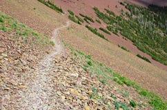Traccia di escursione di Carthew-Alderson Fotografie Stock