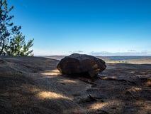 Traccia di escursione provinciale dell'allerta del parco del Algonquin fotografie stock