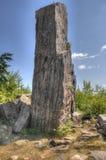 Traccia di Gunflint in foresta nazionale superiore, Minnesota fotografia stock libera da diritti