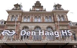Traccia di Hollands della stazione Fotografia Stock Libera da Diritti