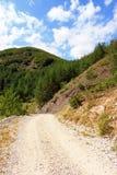 Traccia di montagna immagine stock libera da diritti