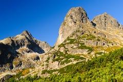 Traccia di montagna in alto Tatras Fotografia Stock Libera da Diritti