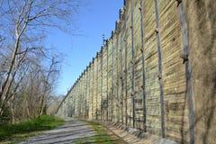 Traccia lungo il lungomare del Mississippi Fotografie Stock Libere da Diritti