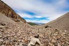 Traccia nazionale del pino del parco-Bristlecone del bacino di NV-grande Fotografie Stock Libere da Diritti