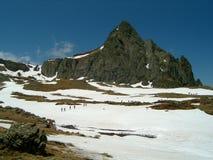 Traccia in Pirenei Immagine Stock Libera da Diritti