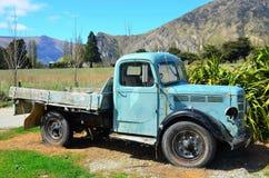 Traccia Queenstown, Nuova Zelanda del vino Fotografia Stock