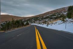 Traccia Ridge Road, Rocky Mountain National Park Immagini Stock Libere da Diritti