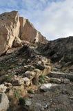 Traccia rocciosa Immagini Stock