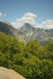 Traccia superiore del Yosemite Falls Fotografia Stock