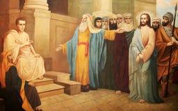 Tracciato della bibbia Immagini Stock Libere da Diritti