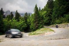 Tracciato nelle alpi slovene Fotografie Stock Libere da Diritti