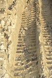 Trace d'un pneu Image libre de droits