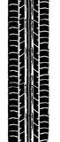 Trace de pneu Photo libre de droits