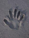 Trace on Sand Stock Photos