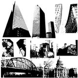 Traced Buildings Vectors Stock Photos