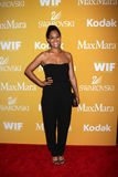 Tracee Ellis Ross arrives at the City of Hope's Music And Entertainment Industry Group Honors Bob Pittman Event royalty free stock photos