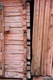 Tracement-adaptez la maison de logarithme naturel photographie stock libre de droits