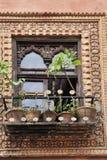 Tracery мусульманской архитектуры стоковое фото
