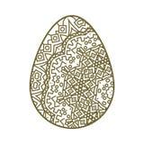 Tracery пасхального яйца Стоковое фото RF