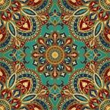 Tracery av mandalas för textil Arkivfoton