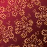 Tracery floral Imagens de Stock