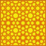 Tracery geométrico árabe da textura Imagens de Stock