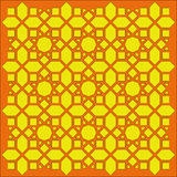 Tracery geométrico árabe da textura Imagens de Stock Royalty Free