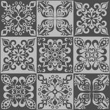 Tracery patchwork pattern Moroccan tiles ornaments. Tracery patchwork pattern from Moroccan tiles, ornaments. Can be used for wallpaper, pattern fills, web page Stock Images