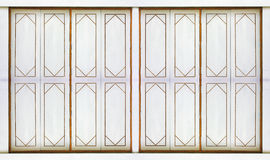 Tracery of windows with Thailand style. Stock Images