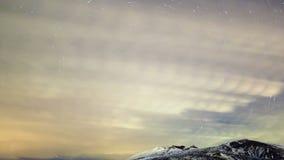 Traces de congé d'étoiles Laps de temps 4K clips vidéos