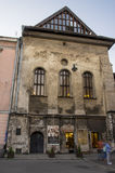 Traces de Cracovie juif photos libres de droits