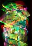 Traces de lumière photos stock
