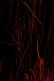 Traces des étincelles Photo libre de droits
