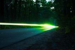 Traces des lumières Image libre de droits