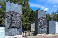 Traces of Jewish Warsaw - Brodno cemetery Stock Photography