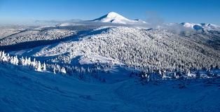 Free Traces Of Tourists To The Highest Mountain Of Ukraine Stock Image - 47529461