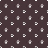 Traces  Textile Pattern. Vector seamless Stock Images