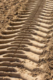 Traces of the tread Royalty Free Stock Image