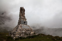 Traces of the war - Dolomites, Itay Royalty Free Stock Photos