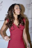 Tracey Edmonds on the red carpet Royalty Free Stock Images