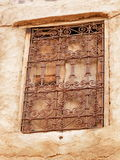 Trachtenmode von Fenstern Stockbild