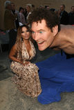 Traci Bingham,David Hasselhoff,Tracy Bingham Royalty Free Stock Photo