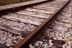 Track. Trolley track Royalty Free Stock Photography