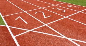Track&Field Fotografia Stock Libera da Diritti