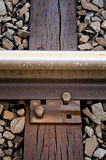 Track Close-up Stock Photo