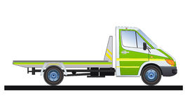 Track1. Commercial vehicle designed for the evacuation of cars Royalty Free Stock Image