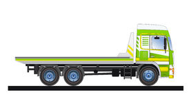 Track2. Commercial vehicle designed for the evacuation of cars Stock Image