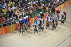 Track Cycling at the 2016 Olympics Stock Image