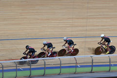 Track cycling Royalty Free Stock Images