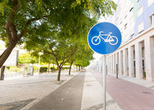 Track for cyclists Stock Image